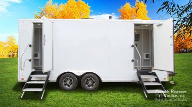 4 Station Shower Trailer with  Laundry | Hercules Explorer Series