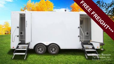 4 Station Shower Trailer with  Laundry   Hercules Explorer Series