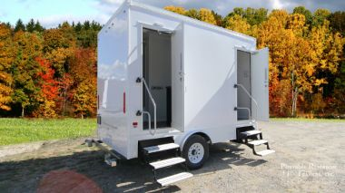 2 Station Shower Trailer with Sinks | Affordable Advantage Series