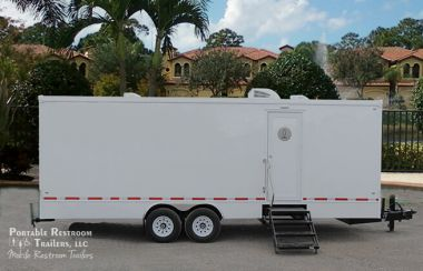 10 Station Shower Trailer with Sinks | Classic Series -