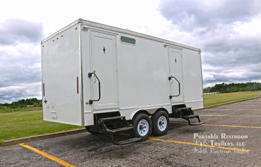 6 Station Bathroom Trailer | Classic Series - Gender Specific - Exterior