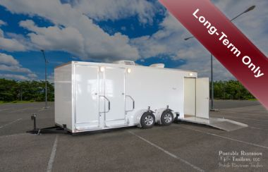 ADA + 2 Shower Trailer Restroom Rental Combo | Oahu Series - Exterior