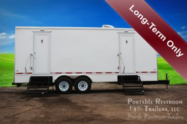 12 Station Portable Restroom Rental | Classic Series - Exterior