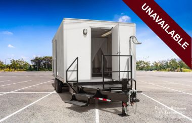 2 Station Environmental Decontamination Shower Trailer Rental - Exterior