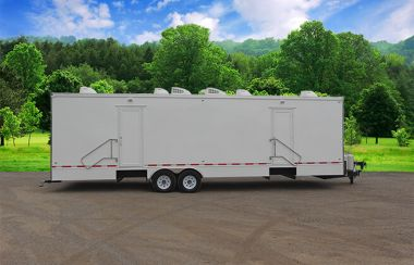 16 Station Portable Shower Trailer | Classic Series