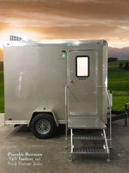 Single Station Portable Shower Trailer  | Comfort Series - Exterior