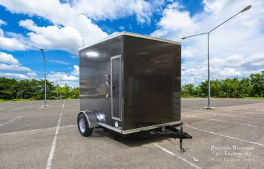 Private Suite Portable Restroom Trailer | Oahu Series - Exterior