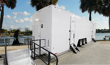 Large ADA Restroom Trailers