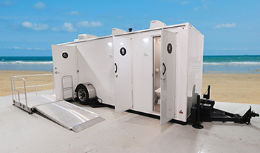 Medium ADA Restroom Trailers