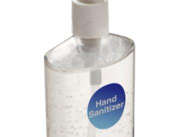 portable restroom trailers hand sanitizer