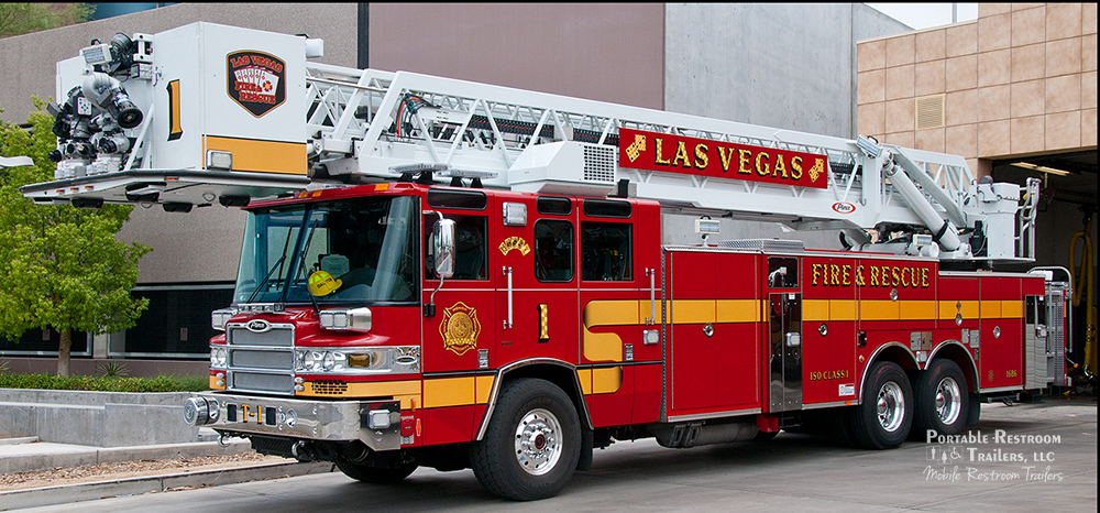 Helping a World-Class Fire Department with Luxury Portable Restroom Trailers for Sale