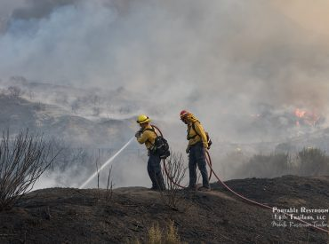 ADA Restroom Trailers to Support Firefighters Battling California Wildfires