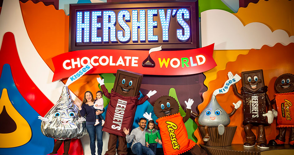 Restroom Rentals for Hersey Park's Chocolate Town Project
