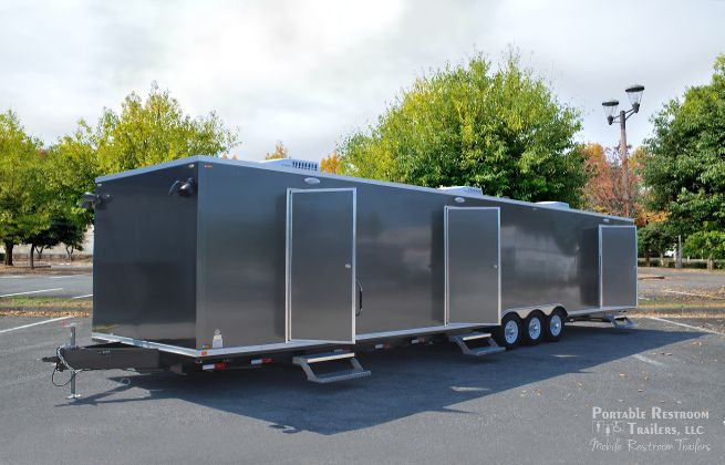 Product Highlight: 8 Station Restroom/ Shower Trailers with Laundry