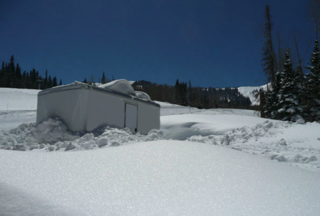 Winter portable restrooms for rent