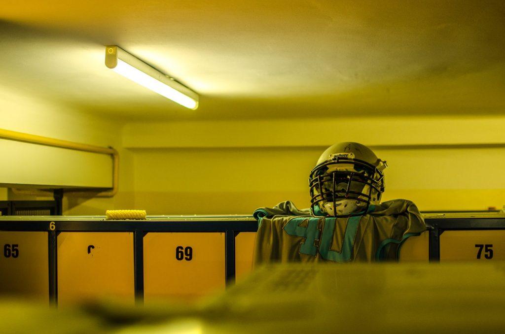 Rental Bathroom trailers extend the locker room