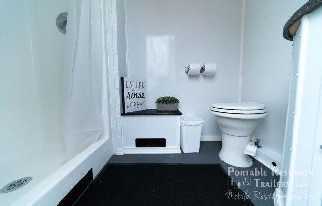 rental bathroom trailers for PVS