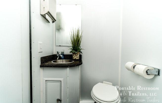 small portable restroom rentals