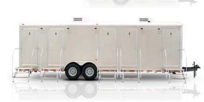 Shower trailers for Walmart