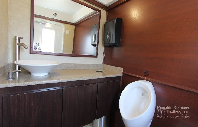 design with restroom trailers for rent