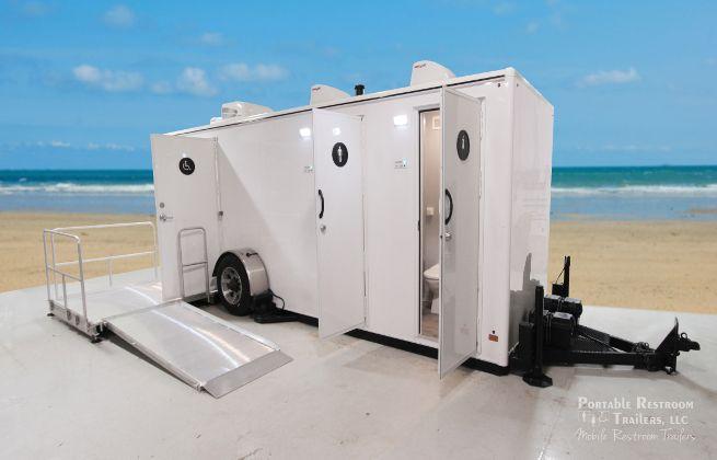 Marina Series Portable Restroom Rentals
