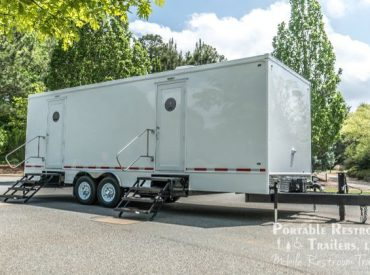 business with portable restroom trailers