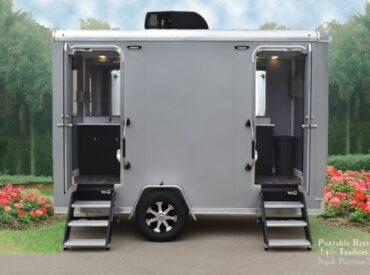 Explorer portable restroom trailers