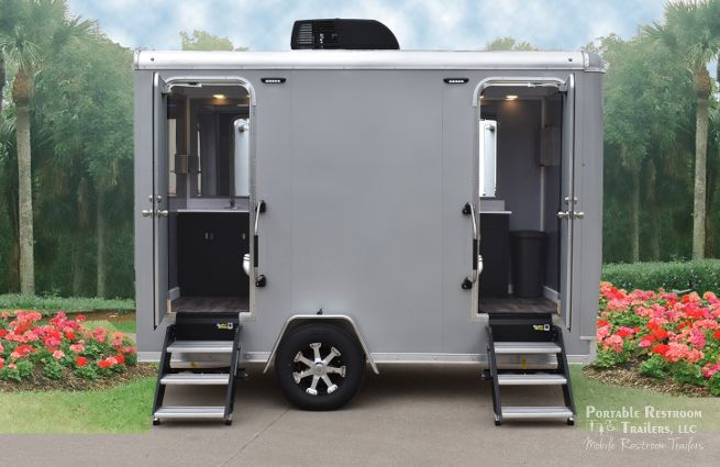 Introducing the Explorer Series Portable Restroom Trailers