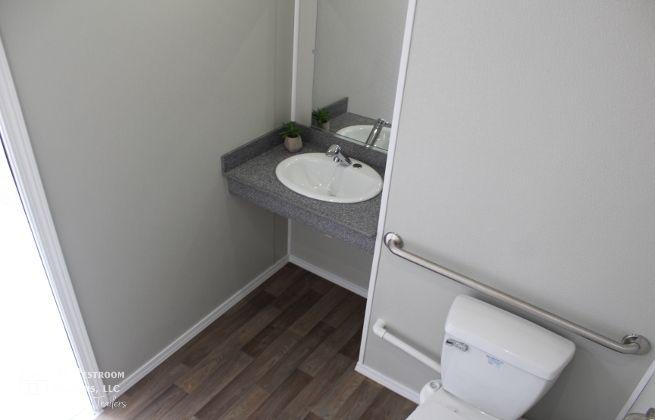 ADA restroom trailer rentals