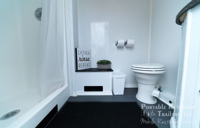 Get to Know the Bathroom/ Shower Trailer Combo