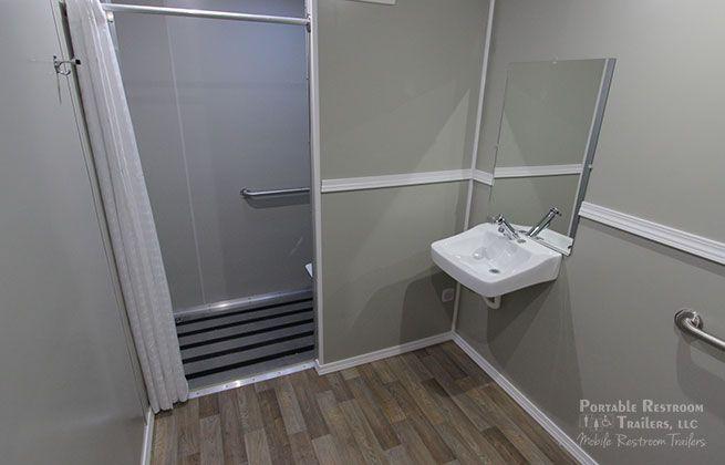 ADA shower trailer rentals